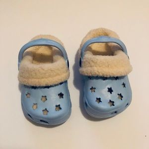 CROCS Shoes - Baby Blue Star Crocs!